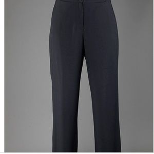 OSKA Viscose/Virgin Wool Trousers Black Women Sz 2